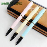 英雄正品 1079正真多彩财会特细铱金笔 墨水笔 学生财会专用钢笔