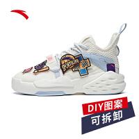 【限时秒杀!】安踏霸道高帮板鞋男鞋官网2020新款可口可乐潮鞋运动鞋112018087