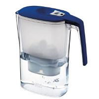 德国倍世(BWT)过滤水壶净水壶净水器 3.6升 白色 蓝色 阻垢款一壶一芯(要哪款颜色麻烦备注一下)