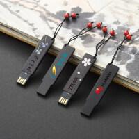 中国风复古典红木质u盘32g 个性创意公司商务礼品定制刻字logo