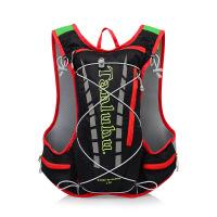 户外男女越野跑步背包马拉松水袋水壶包超轻骑行背包双肩运动包