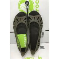 【下单立减150】crocs女鞋阿德瑞娜露趾镂空平底鞋套脚凉鞋|16287 阿德瑞娜三代鱼嘴平底鞋