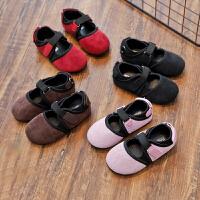 春秋季儿童鞋子公主鞋女童皮鞋豆豆鞋单鞋软底宝宝鞋3岁2