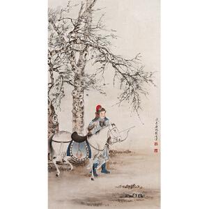 W1826 刘凌沧《木兰出征》