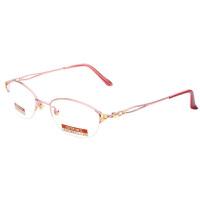夕阳红老花镜女款半框高清晰防辐射防疲劳PC镀膜老花眼镜