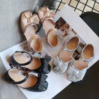 儿童凉鞋2020新款夏季公主鞋 韩版女童凉鞋包头 中小童沙滩鞋