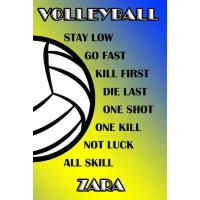 【预订】Volleyball Stay Low Go Fast Kill First Die Last One Sho