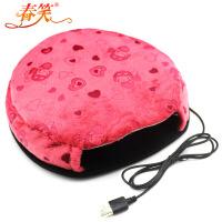 春笑 USB暖手鼠标垫/USB鼠标垫/USB电热鼠标垫(普通款红色)暖手鼠标垫