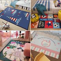 儿童房地毯卧室房间地垫床边毯地垫儿童地毯客厅简约现代满铺茶几沙发爬行垫