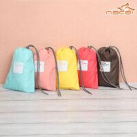 普润 纳彩4枚装旅行收纳袋/幸运袋-黄色