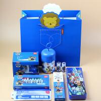 得力汪汪队文具礼盒套装学生学习小礼品开学幼儿园大礼包圣诞礼物