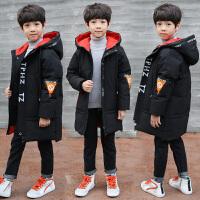 男童冬装棉衣10中大童保暖外套12男孩中长款加厚15岁