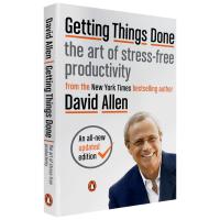 现货正版 搞定1 无压工作的艺术 英文原版 Getting Things Done: The Art of Stress