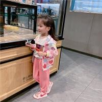 女童夏装宝宝卡通外套儿童面膜衣