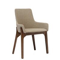 实木餐椅现代简约餐厅布艺软包书房靠背椅子欧式座椅咖啡厅