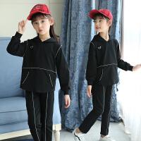童装女童秋装套装韩版春秋中大儿童运动两件套秋季洋气潮