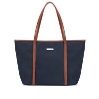 帆布包女单肩包牛津布尼龙女包通勤手提包托包大包包