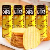 【包邮】韩国进口 好丽友薯片 原味/芝士味 80g*4盒