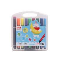 SCM至尚・创美 V8858-18色可洗水彩笔 学生绘画涂鸦18色水彩笔 绘画笔 涂鸦笔 18色盒装销售 当当自营
