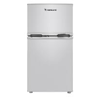【当当自营】sonLu/双鹿BCD-102C双门冷藏冷冻小型电冰箱