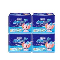 [当当自营]安儿乐 超柔防漏(极薄芯)婴儿纸尿片XL29x4包(适合体重12kg -18kg)