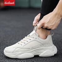 【新春惊喜价】Coolmuch男士轻便缓震透气老爹鞋男士运动休闲跑步鞋QDZ153