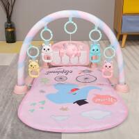 糖米 Temi 婴儿玩具脚踏钢琴健身架 儿童新生婴幼儿宝宝0-1岁 抖音同款早教玩具0-6个月 粉色遥控飞机充电版