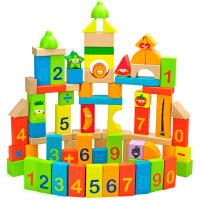 [当当自营]TOPBRIGHT特宝儿80粒水果数字儿童积木7106