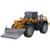 儿童工程车玩具套装四合一合金金属铲车压路机叉车推土机模型男孩 四合一可变形工程车套装