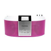 【当当自营】 熊猫/PANDA CD-560 DVD播放机转录机磁带机早教机胎教机CD机收音机 红色