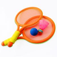 幼儿园礼品塑料羽毛球小号乒乓球网球拍儿童球拍游戏玩具Z