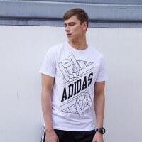 阿迪达斯adidas武道系列男装短袖T恤-ADITSG1-WB
