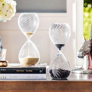 奇居良品 印度家居装饰书桌摆件30分钟计时器/沙漏摆件