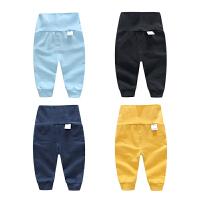 婴儿裤子春款3个月新生儿3宝宝春季3款休闲高腰打底裤1岁