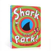 全店�M300�p100】��S包�] 英文原版 Shark In The Park公�@里面有��~ �敲籼m�L本 第26本 Nic