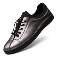 韩版男鞋潮流英伦时尚百搭休闲鞋板鞋休闲鞋百搭西裤牛仔裤个性鞋