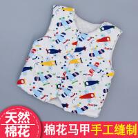 纯棉花手工马甲 男女宝宝幼儿背心婴儿童装坎肩加厚冬装 小孩马夹