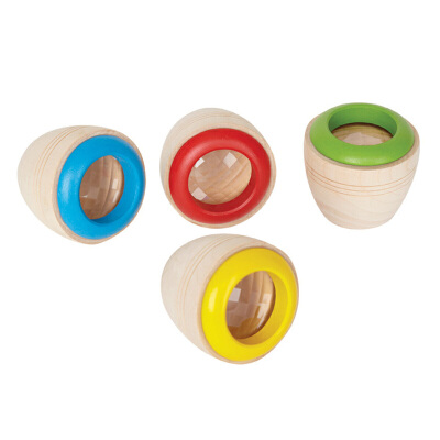 Hape万花筒3岁以上益智创意玩具红色蓝色绿色黄色颜色随机发货早教益智游戏E1003【Hape官方旗舰店】