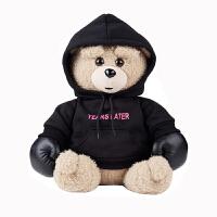 拳击小熊安全防爆充电热水袋 暖宝宝电暖水袋电暖宝暖手宝