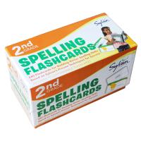 2nd Grade Spelling Flashcards 兰登美国小学二年级英语词汇拼写练习卡片240张 英文原版 儿