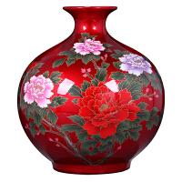 家居装饰品摆件结婚礼物景德镇陶瓷器花瓶插花客厅电视柜酒柜玄关