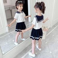 女童学院风套装裙夏装儿童装女孩春夏裙子两件套