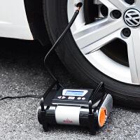 车载充气泵数显预设便携式12v汽车用轮胎打气泵电动加气泵