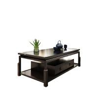 新中式实木沙发组合布艺沙发简约现代客厅样板房别墅实木家具定制 组合
