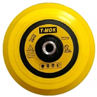 机托盘高速飞盘自粘盘吸盘 底盘6寸150mm汽车美容用品M14