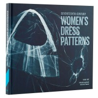 包邮seventeenth-Century women's dress patterns,17世纪女连衣裙图案 欧洲古
