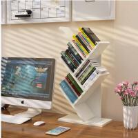 宜哉 桌上树形小书架儿童简易置物架学生桌面书架办公储物架收纳架