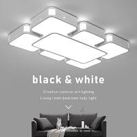 LED吸顶灯客厅灯大灯卧室灯简约现代大气家用长方形灯具大厅灯饰