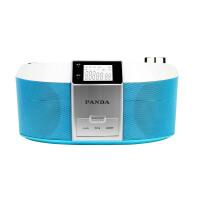 【当当自营】 熊猫/PANDA CD-560 DVD播放机转录机磁带机早教机胎教机CD机收音机 蓝色