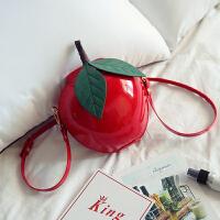 小可爱个性儿童包包小苹果韩版潮包时尚公主小包小女孩斜挎包小包 红色